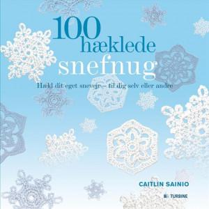 100 hæklede snefnug - Bog af Caitlin Sainio