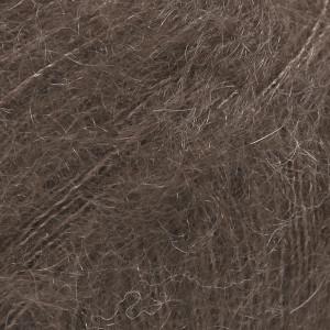 Drops Kid-Silk Garn Unicolor 15 Mørkebrun