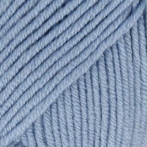 Drops Merino Extra Fine Garn Unicolor 19 Lyseblå