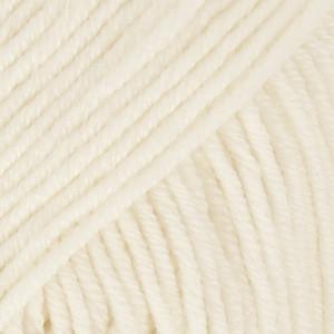 Drops Merino Extra Fine Garn Unicolor 01 Natur