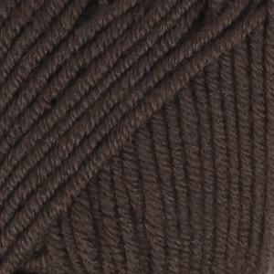 Drops Merino Extra Fine Garn Unicolor 09 Mørkebrun