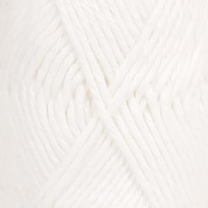 Drops Paris Garn Unicolor 16 Hvid