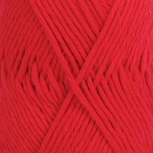 Drops Paris Garn Unicolor 12 Rød