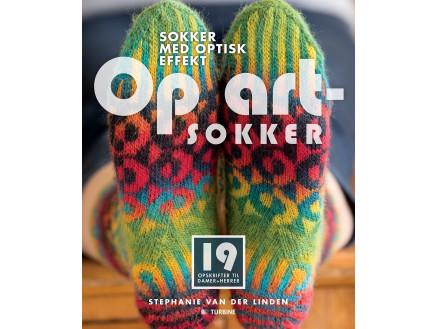 Image of   Op Art-Sokker - Bog af Stephanie van der Linden