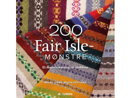 Image of   200 Fair Isle-mønstre - Bog af Mary Jane Mucklestone