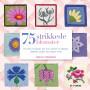 75 strikkede blomster - Bog af Lesley Stanfield