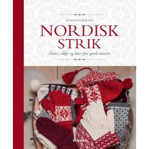 Nordisk strik - Bog af Johanna Wallin