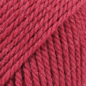 Drops Nepal Garn Unicolor 3608 Dyb Rød