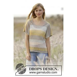 Einkorn by DROPS Design - Top Strikkeopskrift str. S - XXXL