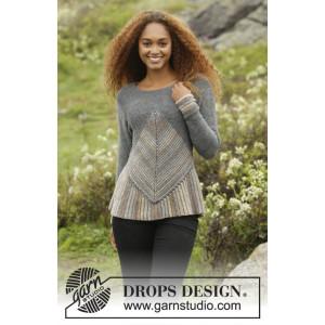 Tauriel by DROPS Design - Bluse Strikkeopskrift str. S - XXXL