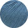 Lana Grossa Cool Wool Mélange GOTS Garn 125 Jeansblå