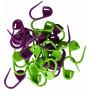 Maskemarkører 30 stk. i grøn og lilla 2 cm