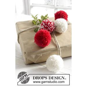 Wrap It Up! by DROPS Design - Pompon Strikkekit 5 cm