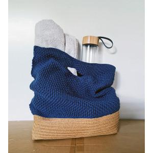 Strandtaske af HoldMasken.dk - Garnpakke til Strandtaske - Flere størrelser