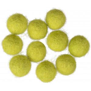 Filtkugler 10mm Lysegrøn GN3 - 10 stk
