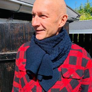 Chess Tørklæde af Rito Krea - Halstørklæde Strikkeopskrift Onesize