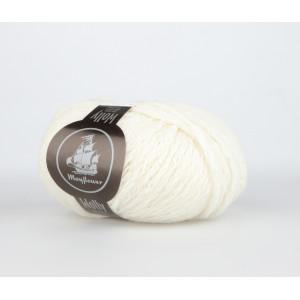 Mayflower Wolly Garn Unicolor 16 Hvid