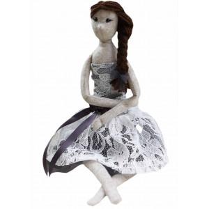 Go handmade Sykit Dukken Sonia Filt 45 cm