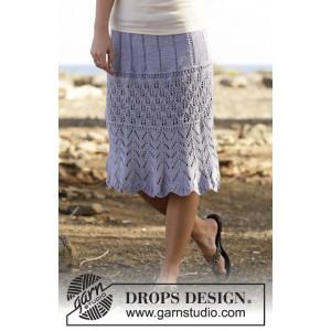 Spring Break by DROPS Design - Nederdel Strikkeopskrift str. S - XXXL