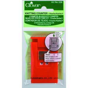 Clover Omgangstæller / Pindetæller Rød 7x4 mm - 1 stk