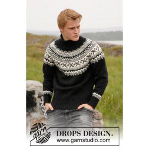 Neville by DROPS Design - Sweater Strikkeopskrift str. S - XXXL