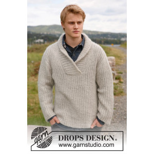 Parker by DROPS Design - Bluse Strikkeopskrift str. S - XXXL