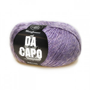 Mayflower Da Capo Garn Mix 22 Lilla