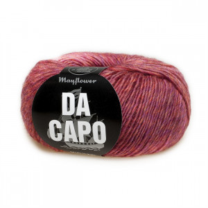 Mayflower Da Capo Garn Mix 23 Koralrød