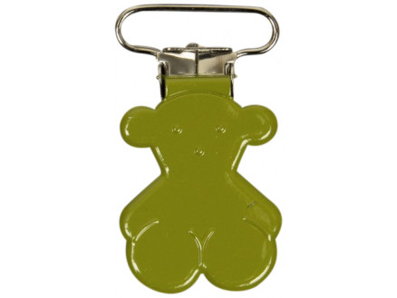 Image of   Seleclips Bamse Lime 25mm - 1 stk