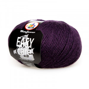 Mayflower Easy Care Garn Unicolor 92 Aubergine