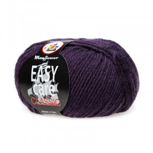 Mayflower Easy Care Classic Garn Unicolor 287 Mørk Syren