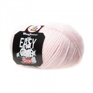 Mayflower Easy Care Big Garn Unicolor 186 Lyserød