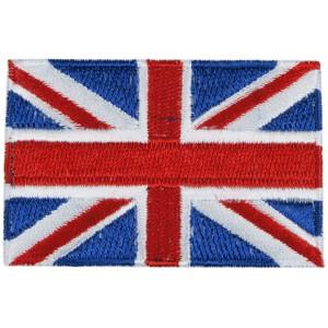 Strygemærke Flag England 4x7 cm - 1 stk