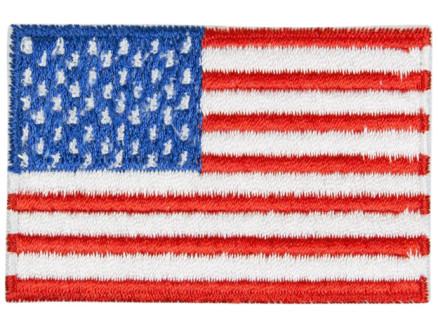 Image of   Strygemærke Flag USA 4x7 cm - 1 stk