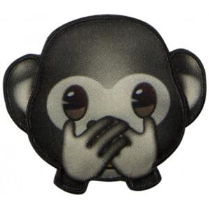 Emoji Strygemærke Abe Mund 6,5x7,5 cm - 1 stk