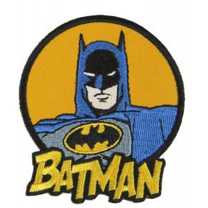 DC Comics Batman Strygemærke med tekst 7x6,5 cm - 1 stk