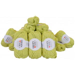 Drops Loves You 5 Garnpakke Unicolor 124 Lime - 20 stk