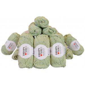 Drops Loves You 5 Garnpakke Unicolor 125 Mint - 20 stk