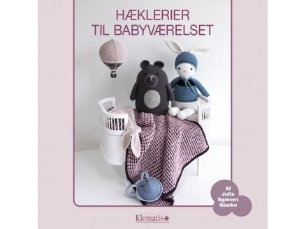 Image of   Hæklerier til babyværelset - Bog af Julie Egmont Glarbo