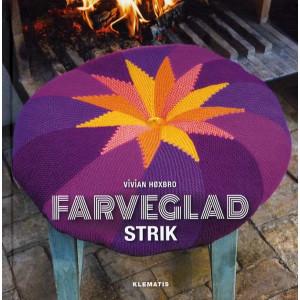 Farveglad strik - Bog af Vivian Høxbro