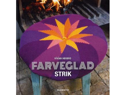 Image of   Farveglad strik - Bog af Vivian Høxbro
