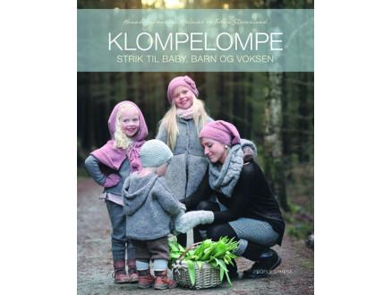 Image of   Klompelompe Strik til baby, barn og voksen - Bog af Hanne Andreassen H