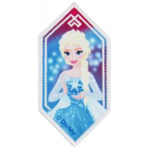 Disney Frost Strygemærke Elsa Rude 8,5x4,5 cm - 1 stk