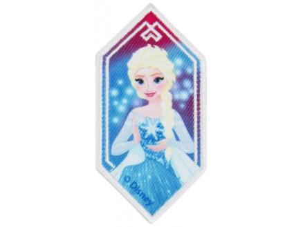Image of   Disney Frost Strygemærke Elsa Rude 8,5x4,5 cm - 1 stk