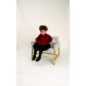Rico Creative Glühwürmchen Opskrift Poncho til Børn