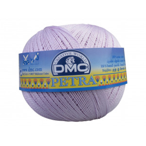 DMC Petra nr. 8 Hæklegarn Unicolor 5211 Lys Syren