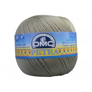 DMC Petra nr. 8 Hæklegarn Unicolor 5646 Grågrøn