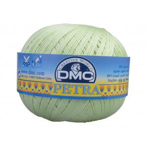 DMC Petra nr. 8 Hæklegarn Unicolor 5772 Pistacie