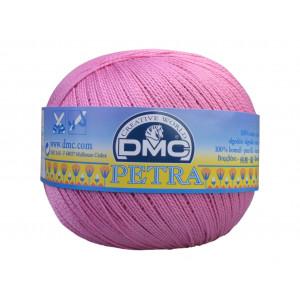 DMC Petra nr. 8 Hæklegarn Unicolor 53608 Rosa