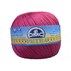 DMC Petra nr. 8 Hæklegarn Unicolor 53803 Blomme